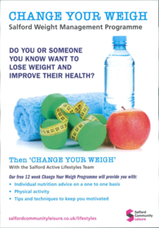 Change Your Weight - Salford Weight Management Programme